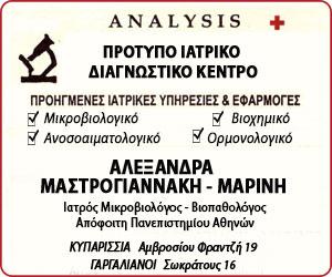 MASTROGIANNAKH MARINH ANALYSIS