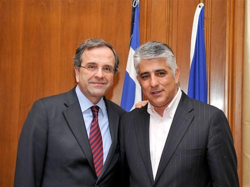 Και ο δήμαρχος του πρωθυπουργού στο Μέγαρο Μαξίμου!