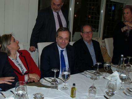 Λαμπρόπουλος - Σαμπαζιώτης δεν δείπνησαν με Σαμαρά...