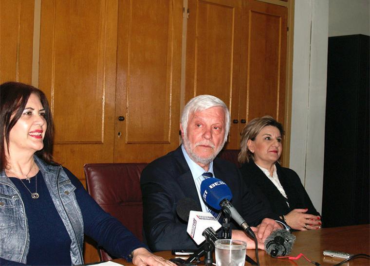 Ντίνα Νικολάκου, Πέτρος Τατούλης, Ελένη Αλειφέρη