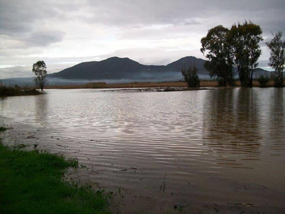 Από τις περσινές πλημμύρες στον Άγιο Φλώρο