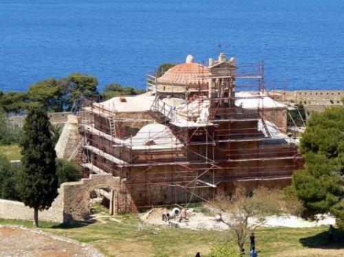 Η Μεταμόρφωση του Σωτήρος στο Νιόκαστρο της Πύλου, παλιό τζαμί