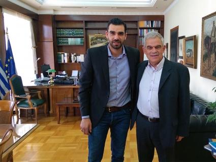 Πέτρος Κωνσταντινέας και Νίκος Τόσκας
