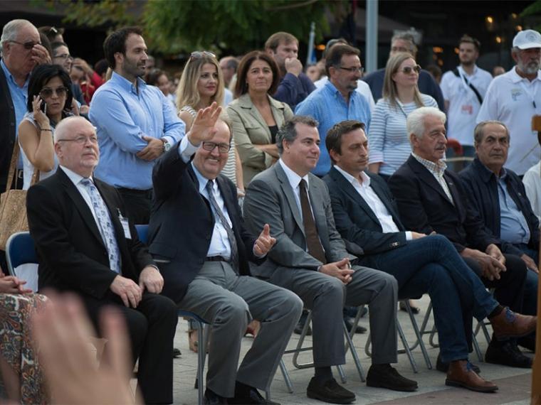 Κωνσταντακόπουλος και Περιφέρεια δίνουν 100.000 ευρώ για την Πολιτιστική Πρωτεύουσα