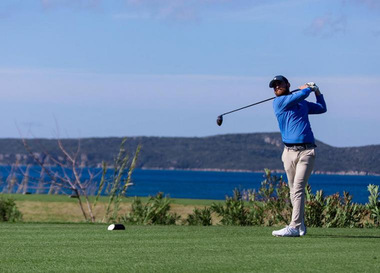 Stuart Boyle, The Bay Course @ Messinia Pro-Am (by Vassilis Sfakianopoulos)
