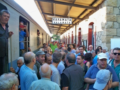 Άμεση δρομολόγηση του τρένου στη γραμμή Διοικητήριο Καλαμάτας-Μεσσήνη-ΤΕΙ