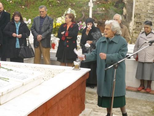 Πίκρα και οργή στο μνημόσυνο για τους εκτελεσθέντες από τους Γερμανούς πατριώτες